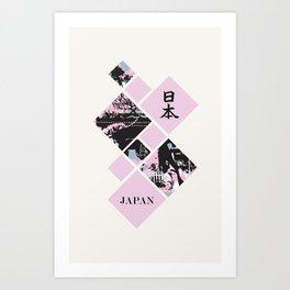 Visions of Japan Art Print