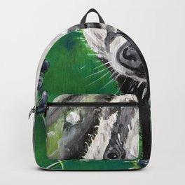 Badger In The Green Backpack 67247e81b4c5f