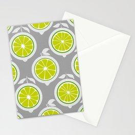 Lime Mod Stationery Cards