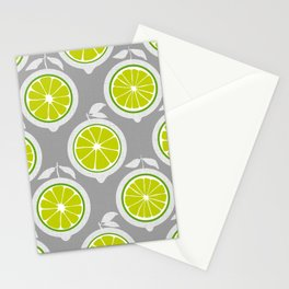 Lime Mod Stationery Cards