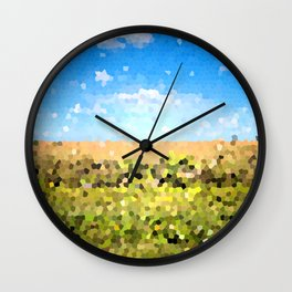 Grass Ain't Greener Wall Clock