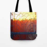 door Tote Bags featuring Door by aeolia