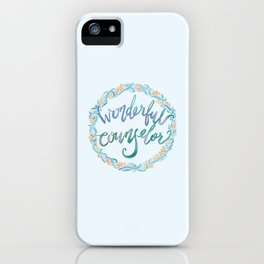 Wonderful Counselor - Isaiah 9:6 iPhone Case
