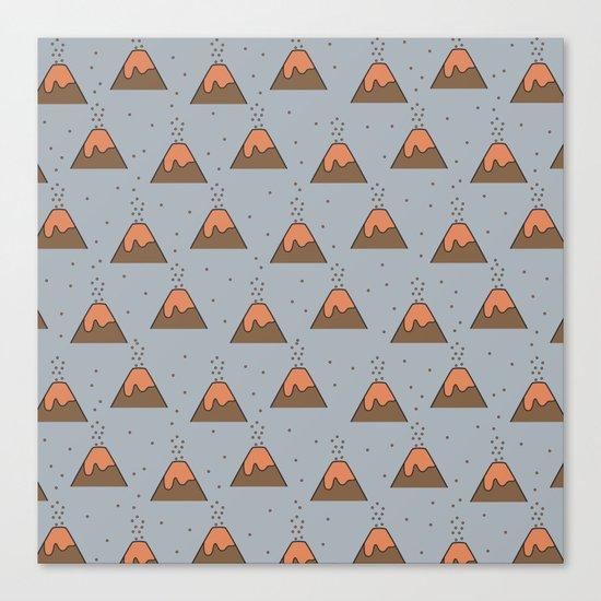 Volcano Pattern #2 Canvas Print