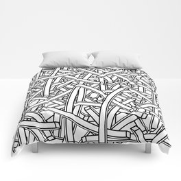 entwined stripes Comforters