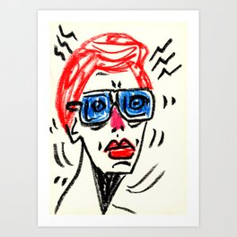 drawing_31 Art Print