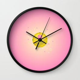 Moon Prism Power Wall Clock