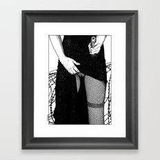 asc 639 - L'alternative (You don't mess with Barb) Framed Art Print