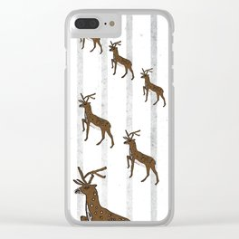 The march of the hind Clear iPhone Case
