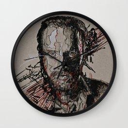 Rick Grimes The Walking Dead Wall Clock