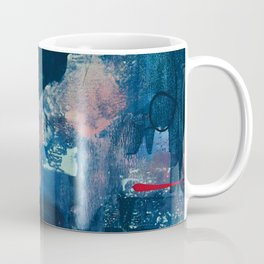 The Peace of Wild Things: a vibrant abstract piece in a variety of colors by Alyssa Hamilton Art Coffee Mug