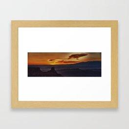 """""""Morning Layers"""" Framed Art Print"""