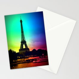 paris Colorful Stationery Cards