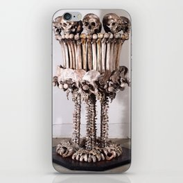 Catacomb Culture - Skull and Bone Lamp iPhone Skin
