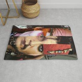 Faces Johnny Depp Rug