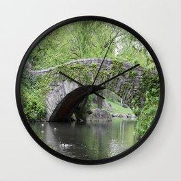 Gapstow Bridge  NYC Wall Clock