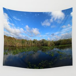 Blue Hour In The Everglades Wall Tapestry