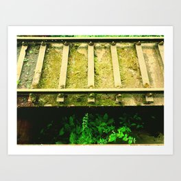 GreenWay Art Print