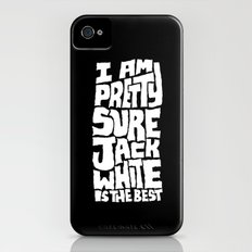 Jack White iPhone (4, 4s) Slim Case