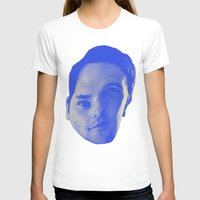 chad wys T-shirts featuring Bad Chad Head by Blake Makes Tees