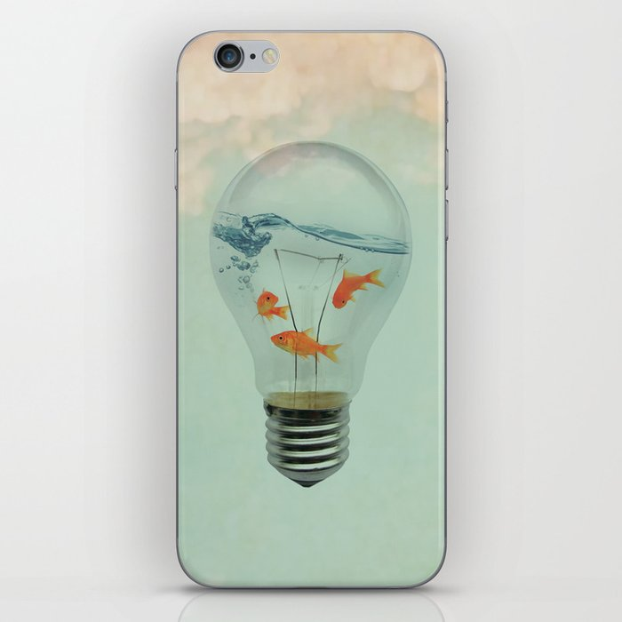 Ideas and Goldfish (RM) iPhone Skin