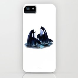 Orca Duo iPhone Case