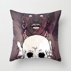 Magic People Voodoo People Throw Pillow