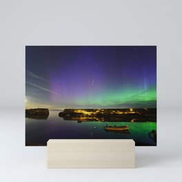 Shooting Star Aurora at Lanes Cove Mini Art Print