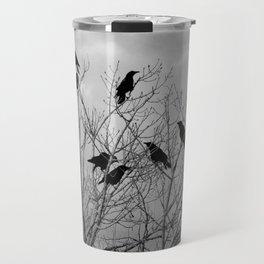 Murder Of Crows - Three Travel Mug