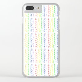 Thunder and abstraction 11-thunderbolt,thunder,storm,fire,ligthning,electric,rumble Clear iPhone Case