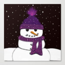 The Armless Snowman Canvas Print