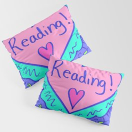 Reading! Pillow Sham