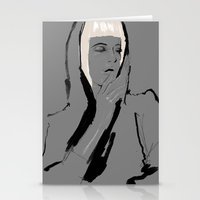 musa Stationery Cards featuring Musa de Platino by RobGiordano4