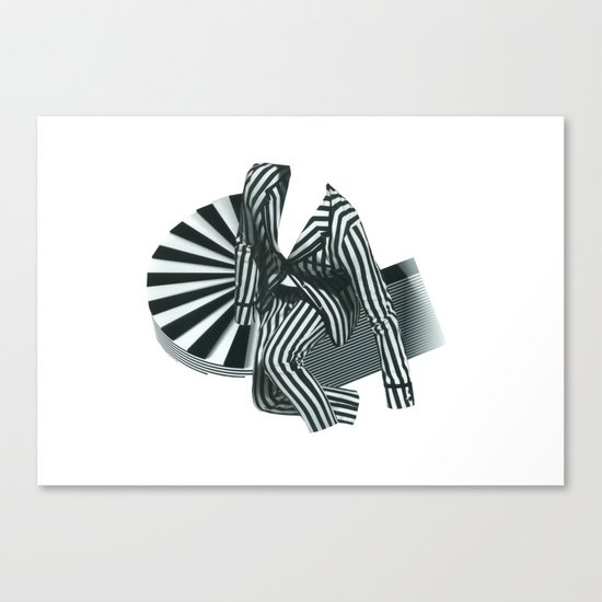 Mr. Zebra Canvas Print