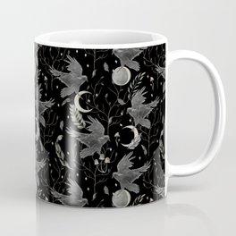 watercolor crow Coffee Mug