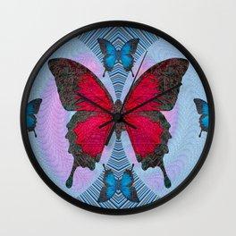 Vlinder Wall Clock