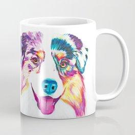 Happy Australian Shepherd Coffee Mug