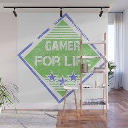 Gamer for life Wall Mural