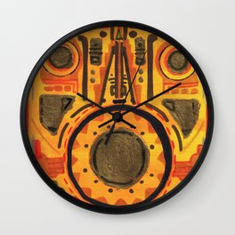 Ahau kin by Chipchaman Wall Clock