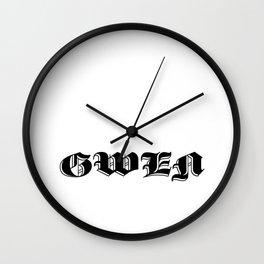 Gwen Wall Clock