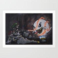 BooBusters Art Print