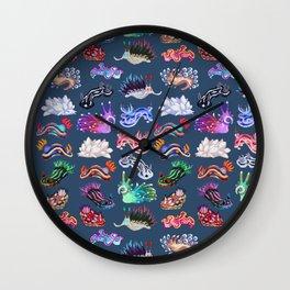 Nudibranch Wall Clock