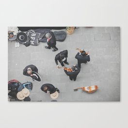 Mexico City Musicians Canvas Print