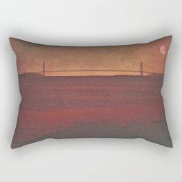 THE VERRAZZANO NARROWS BRIDGE Rectangular Pillow