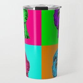Pop art zombie Travel Mug