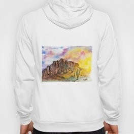 The Superstition Mountains Sunrise Hoody