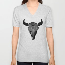 Buffalo Bison Unisex V-Neck