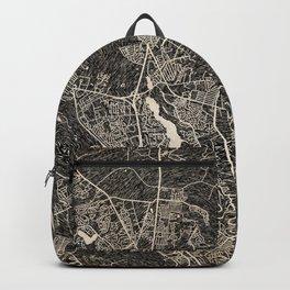 GOOSE CREEK map South Carolina Ink lines Backpack