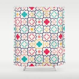 Cute Eastern Pattern Shower Curtain