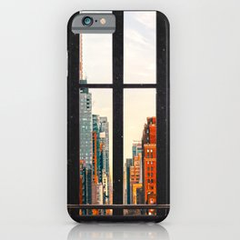 New York City Window #2-Surreal View Collage iPhone Case